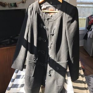 The Limited Jackets & Coats - Warm The Limited Wool Coat with Toggles! Medium